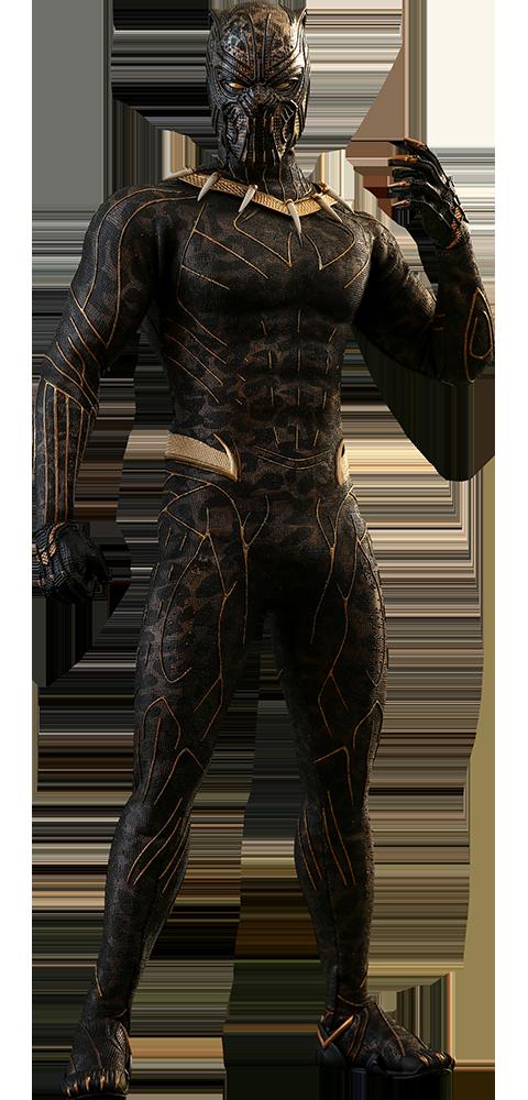 Erik Killmonger Black Panther Jaguar Action & Toy Figures.