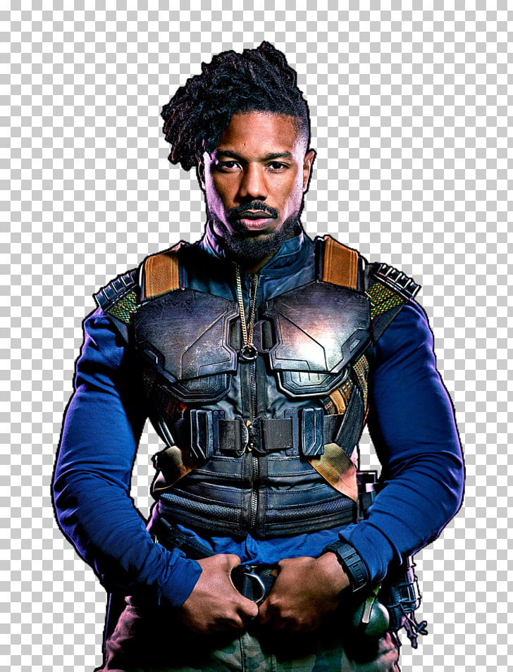 Michael B. Jordan Black Panther Erik Killmonger W\'Kabi.