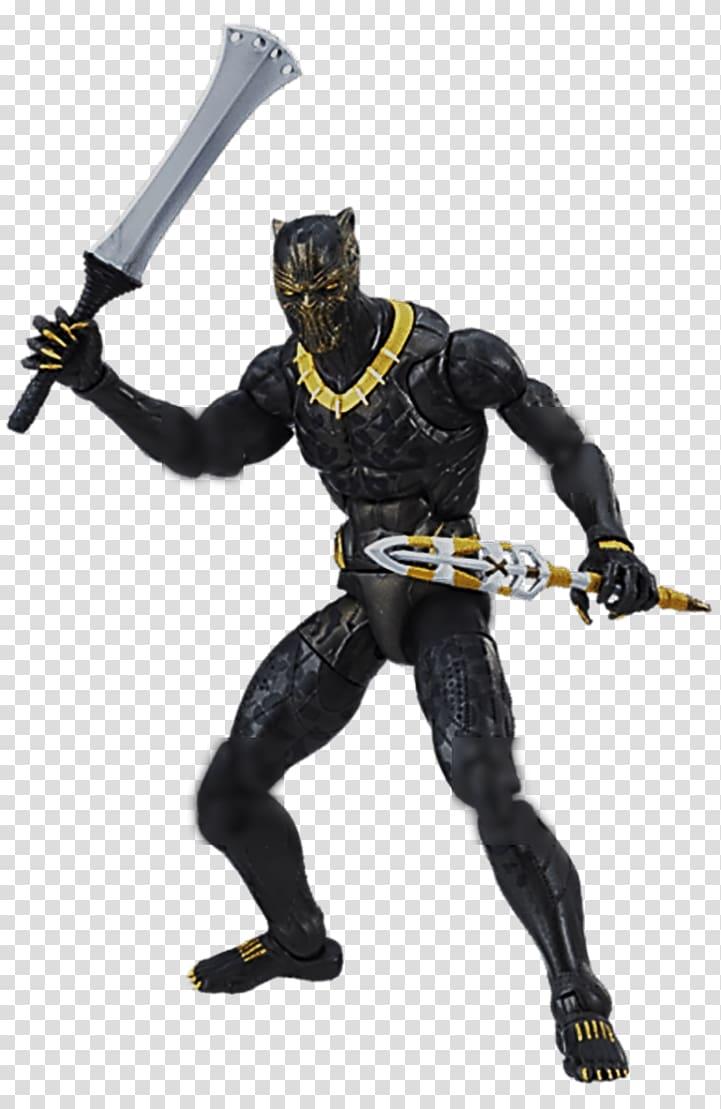 Erik Killmonger Black Panther Marvel Legends Action & Toy.