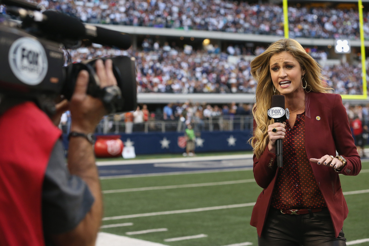 Radio Host Apologizes, Then Says If Erin Andrews Weighed More She.