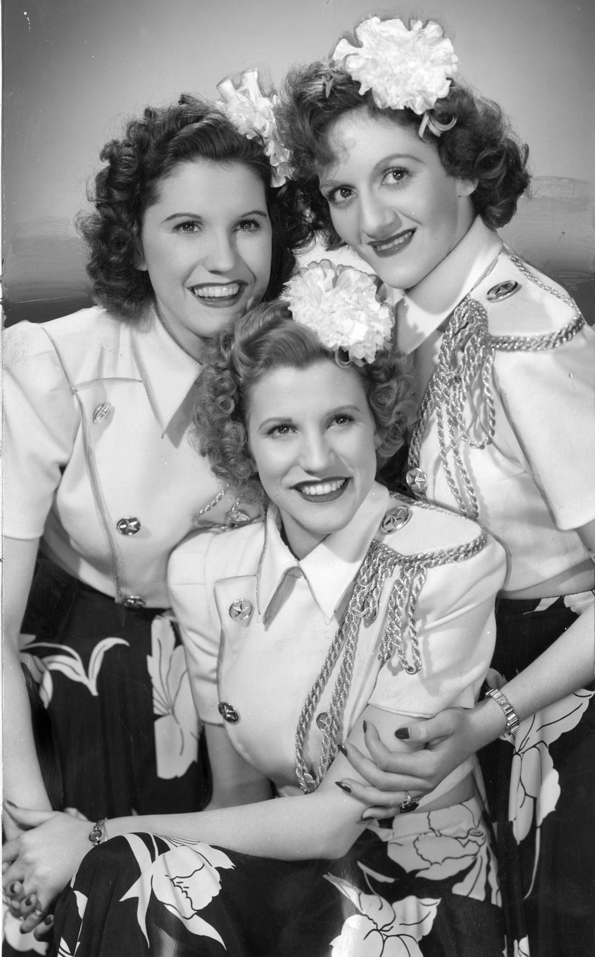 Andrews Sisters Clipart.