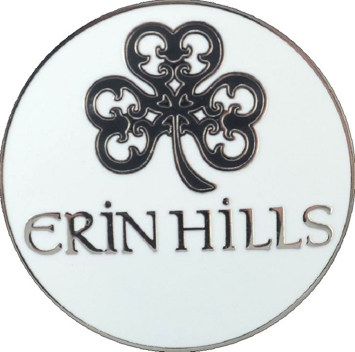 Details about ERIN HILLS Logo.