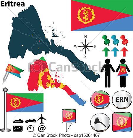 Eritrea Vector Clipart EPS Images. 506 Eritrea clip art vector.