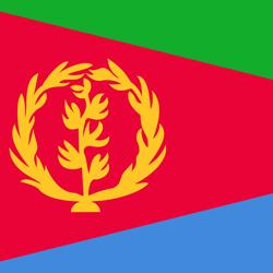 Eritrea flag clipart.