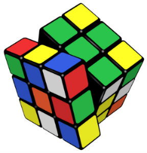 History of Rubik's Cube.