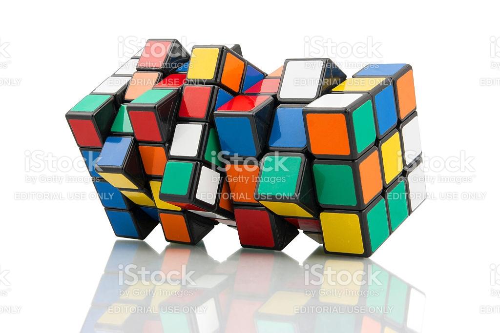 Rubiks Cubes stock photo 472139109.