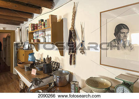Stock Images of E. L. Blumenschein Home & Museum Of Painter Ernest.