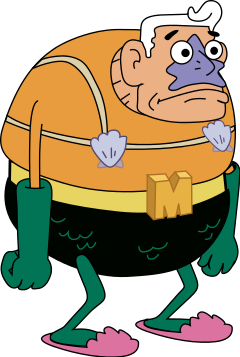 User blog:LexiLexi/Mermaidman Actor Ernest Borgnine Dead at 95.