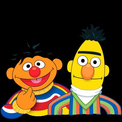 Sesame Street Bert And Ernie Clip Art #v1LkmS.