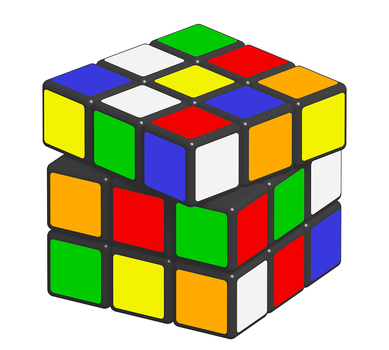 Free illustration: Rubik, Cube, Puzzle, Game, Ernő.
