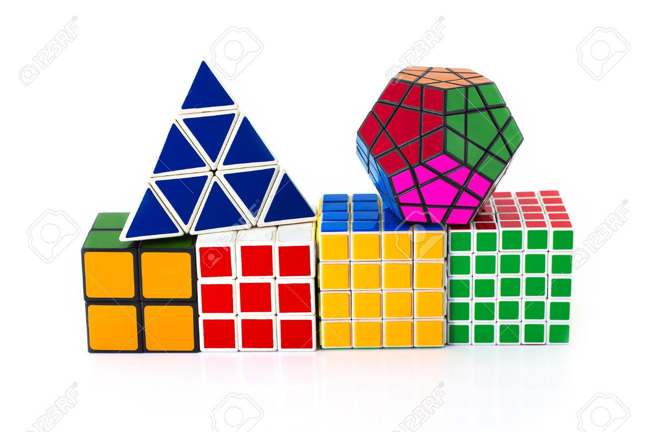 PHRA NAKHON SI AYUTTHAYA THAILAND JUNE 30.Rubik's Cube Invented.
