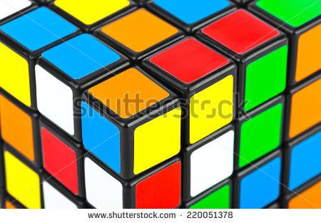 Rubik Puzzle Stock Photos, Royalty.