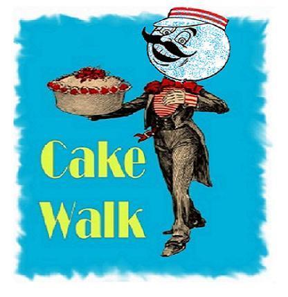 Halloween Cake Walk Clipart.