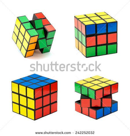 Rubiks Stock Photos, Royalty.
