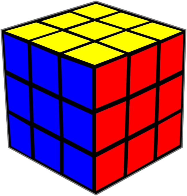 Rubik's Cube Picture.