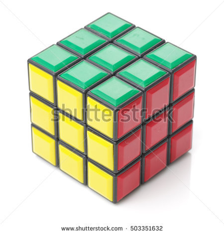 Classic Rubik Stock Photos, Royalty.