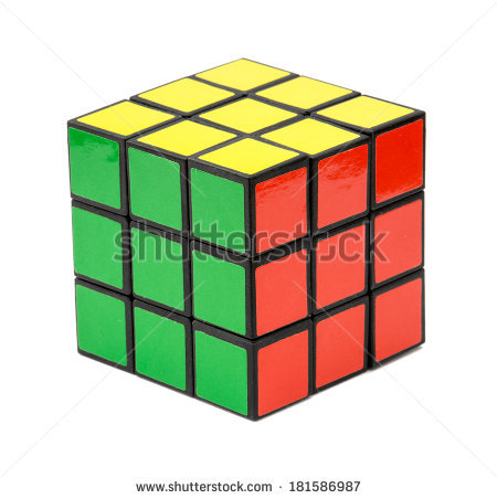 Rubik Stock Photos, Royalty.