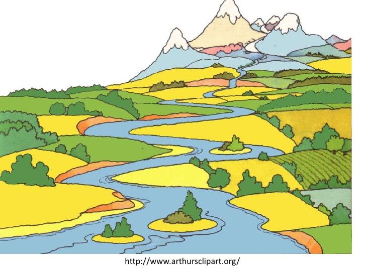 Weathering, erosion, deposition (teacher background).