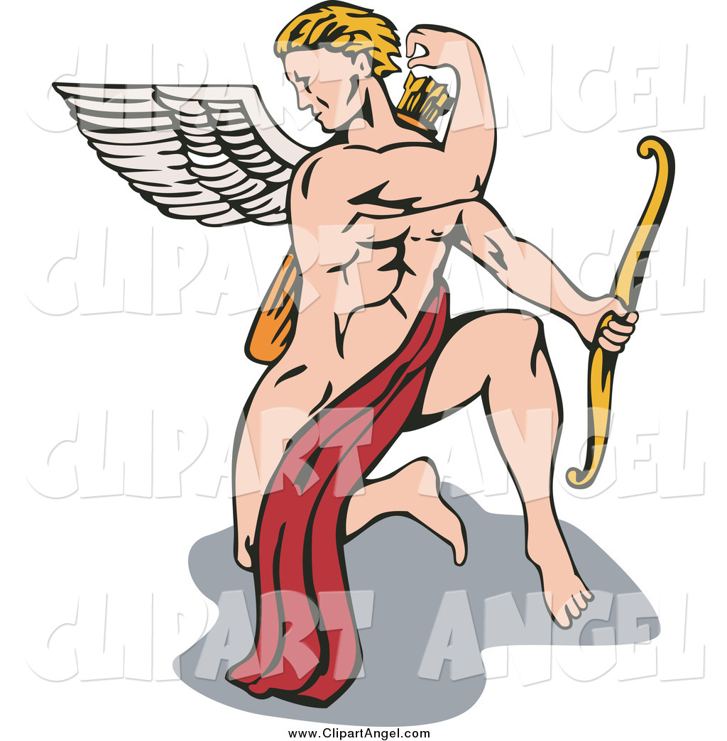 Royalty Free Stock Angel Designs of Eros.