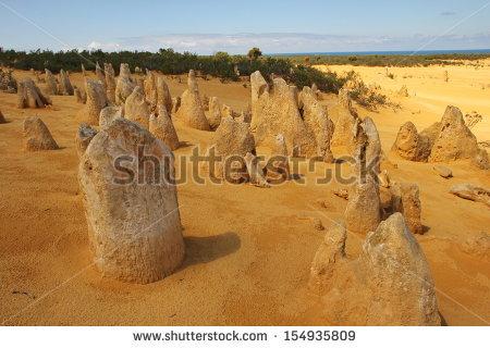 Pinnacles Western Australia Stock Photos, Royalty.