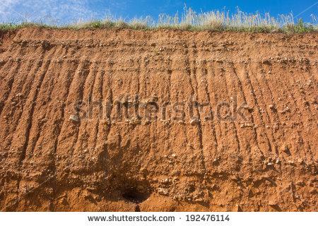 Erosion.