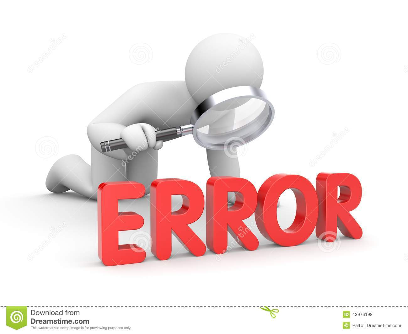 Error clip art free.