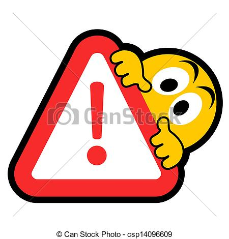 Vector Clipart of Error cartoon.