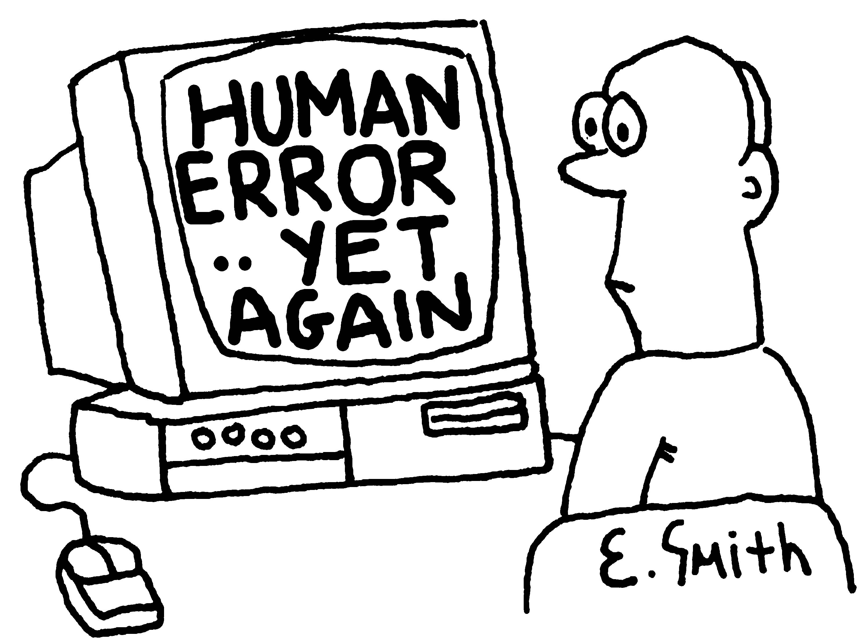 Clip Art Error Is Human.