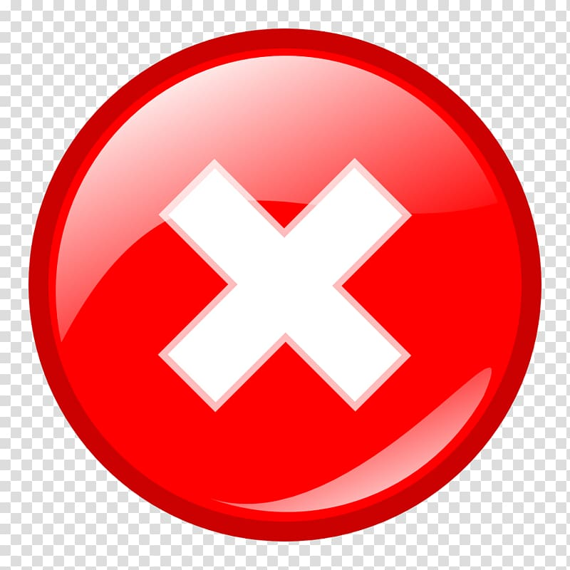 Error message Icon, Warning Icons transparent background PNG.