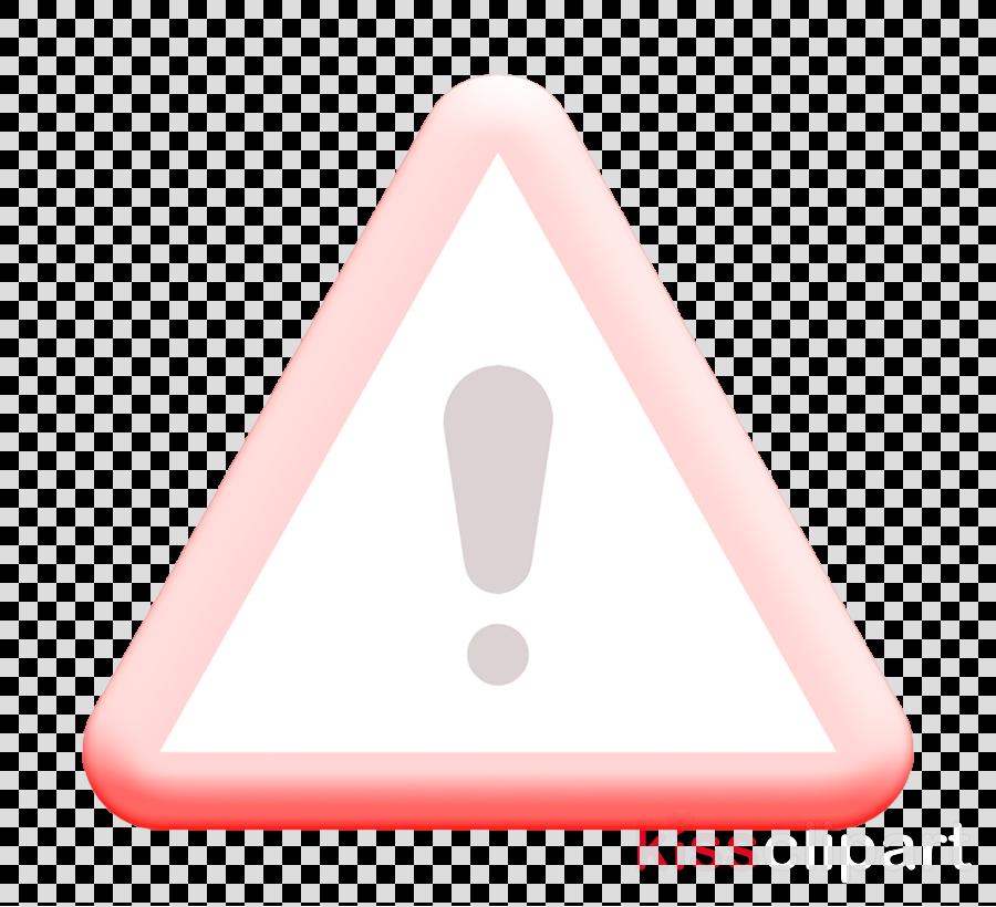 Warning icon Symbols icon Error icon clipart.