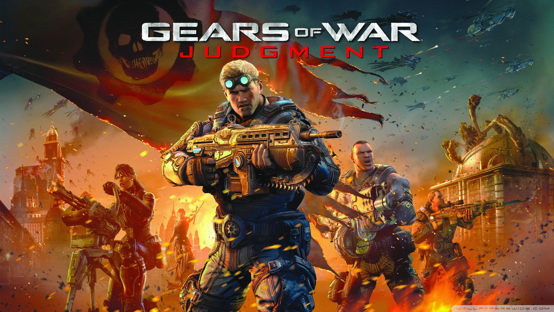 Gears of war judgment clipart.