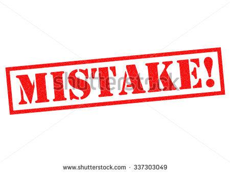 Error In Judgement Stock Photos, Royalty.