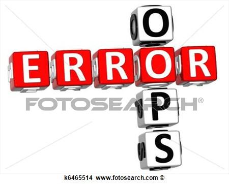 Error Clipart.