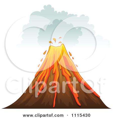 Erupting cliparts.