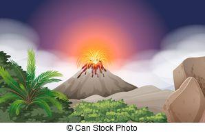 Volcano eruption Illustrations and Clip Art. 1,214 Volcano.