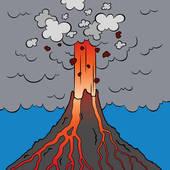 Erupting Clipart and Illustration. 415 erupting clip art vector.