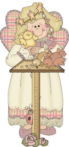 Resultado de imagen para angeles caricatura.