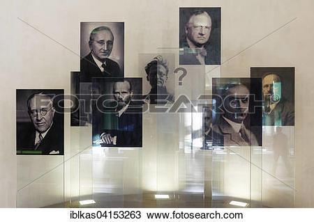 Stock Photo of Portraits of Nobel laureates of the University of.