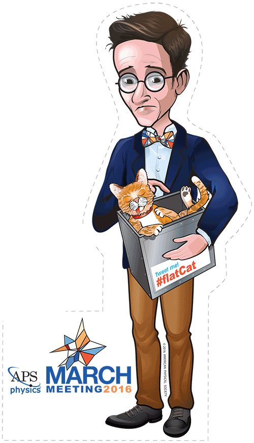 "My caricature of Erwin Schrödinger (aka FlatCat ) ""FlatCat"" will."