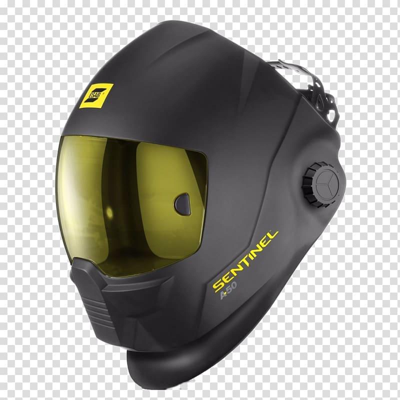 Welding helmet ESAB Gas tungsten arc welding, Esab.