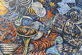 "Stock Photo of ""Mural, East Side Gallery, Berlin Wall gallery."
