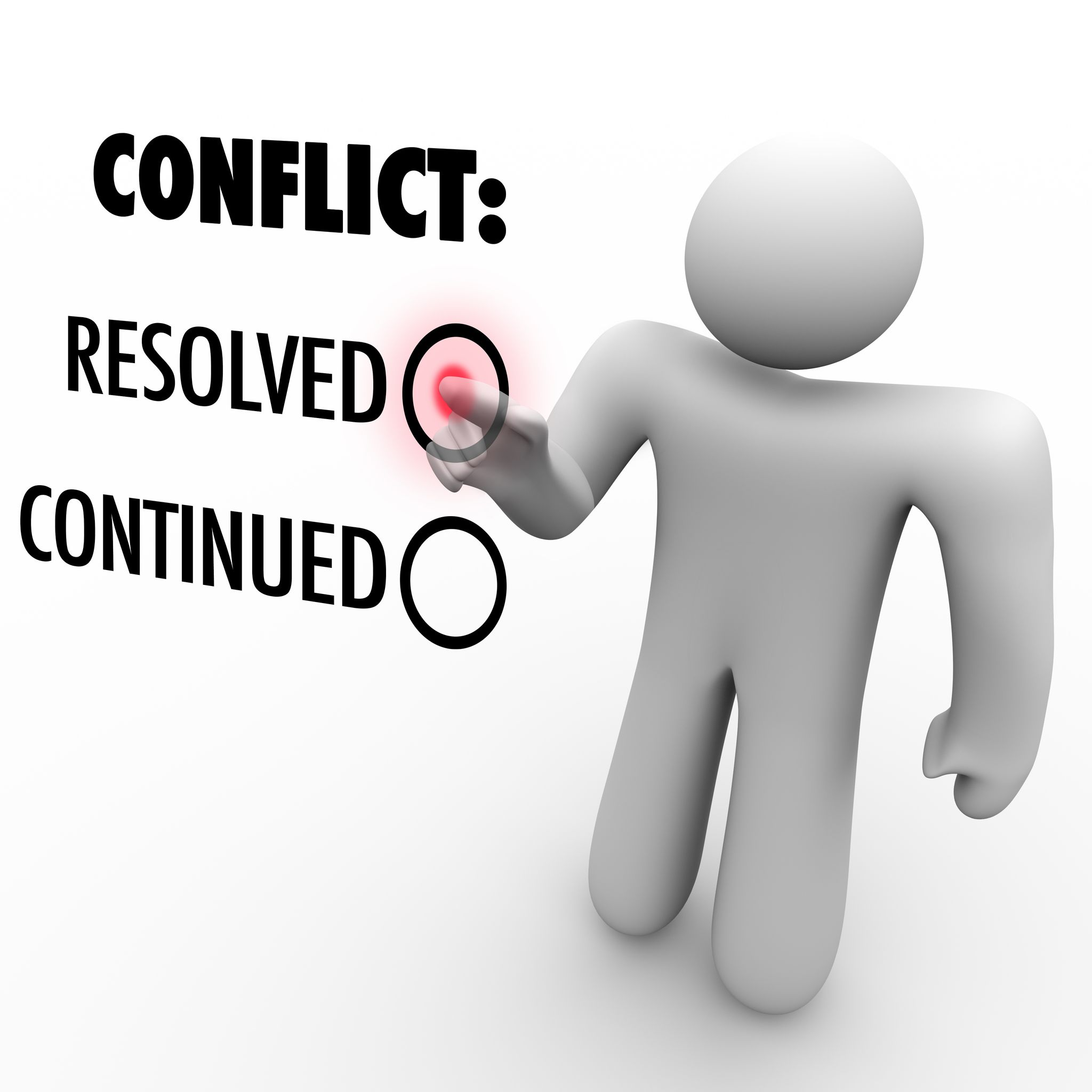 Conflict Resolution Clipart.