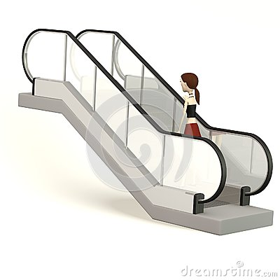 Escalator clipart #4