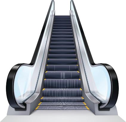 Escalator Clip Art, Vector Images & Illustrations.