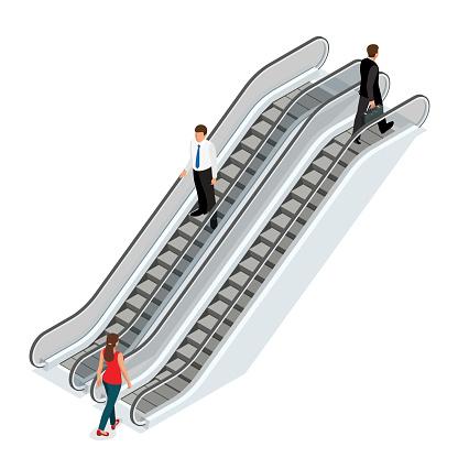 Escalator clipart #15