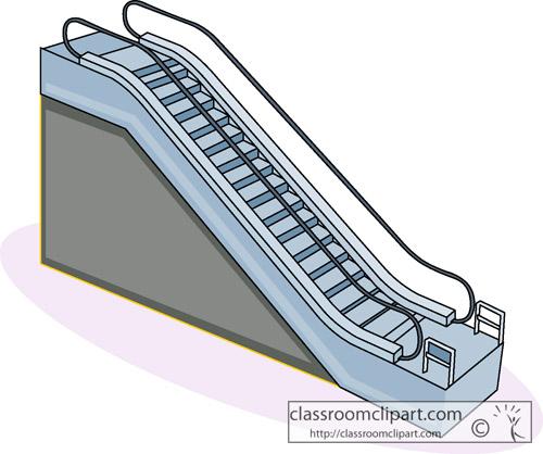 Escalator clipart #16