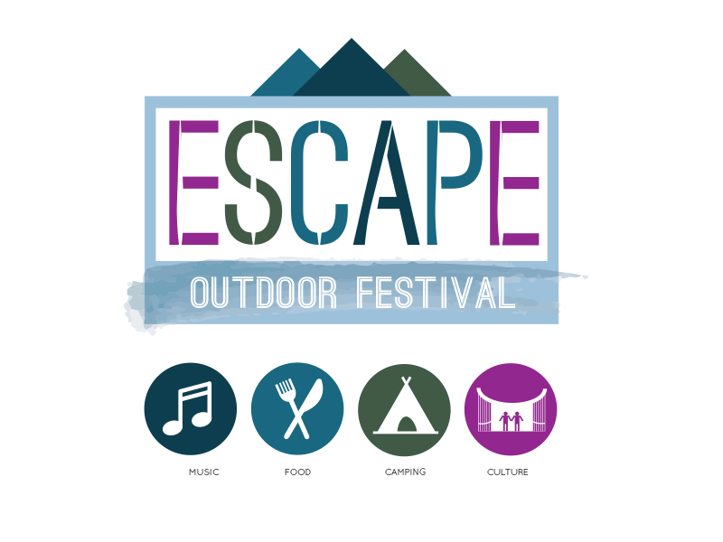 Briefbox — Escape Festival Logo and Icons by Petra I.