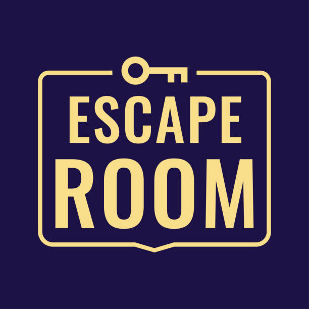 Best Escape Room Illustrations, Royalty.