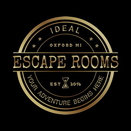 Official Ideal Escape Room Logo.