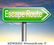 Escape route Clipart and Stock Illustrations. 212 escape route.